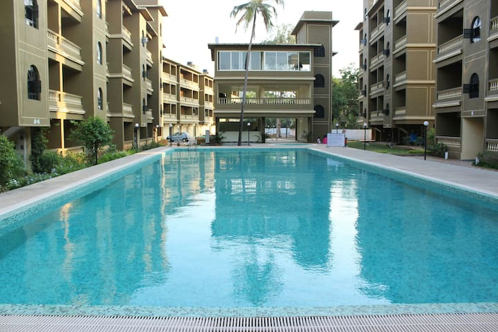 Cozy 2BHK in a Resort Complex F3 - Oxel - Apartamento
