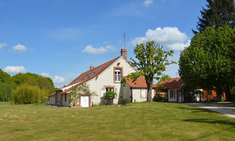 Gîte entre Sologne & Gâtinais - Varennes-Changy - Natuur/eco-lodge