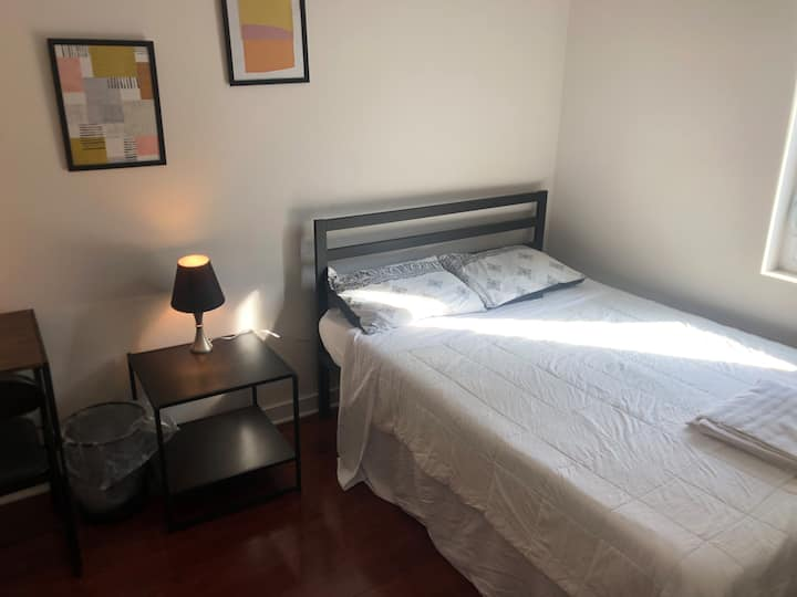 Comfy Bedroom in Brand New Condo Near Center City