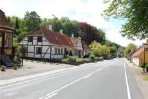 A view of Tranekær village