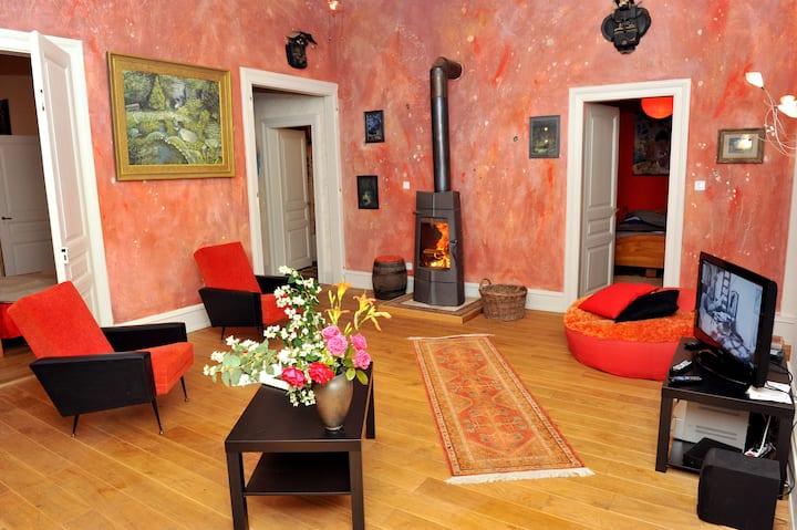 La Villa du Parc,luxe et écologie, 105m2, 4 à 6 p.