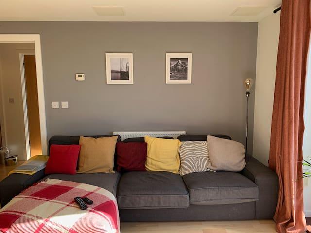 Lounge area.