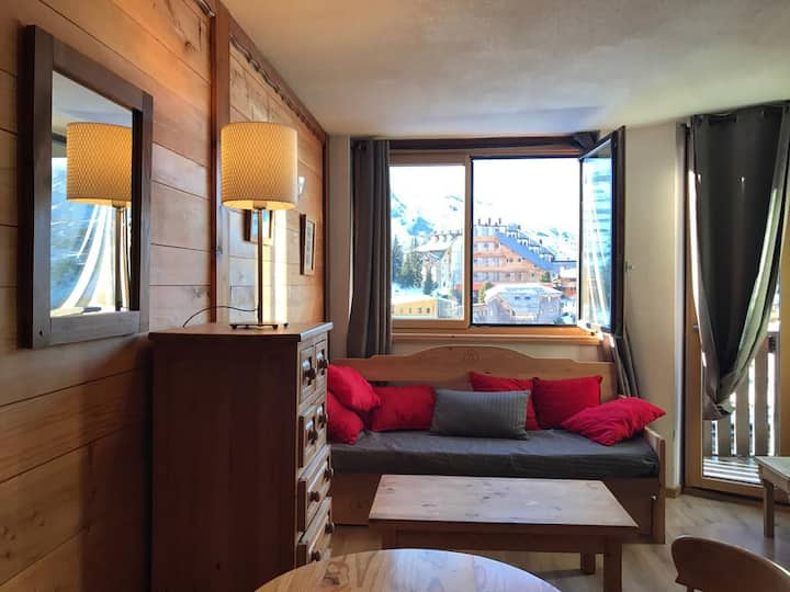 centre avoriaz intrets appart 1 chambre 4 pers