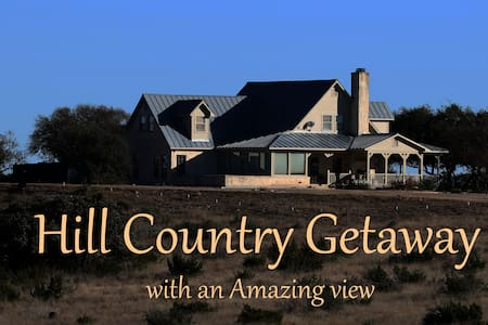 Hill Country Getaway - Mountain Home - Dům