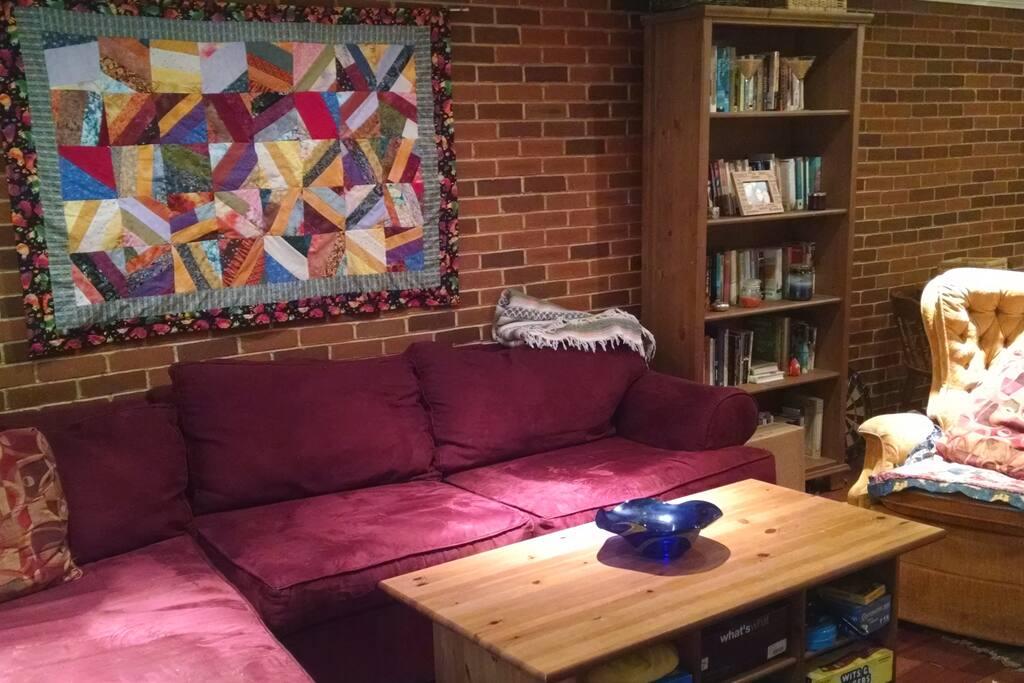 Living room on ground floor.