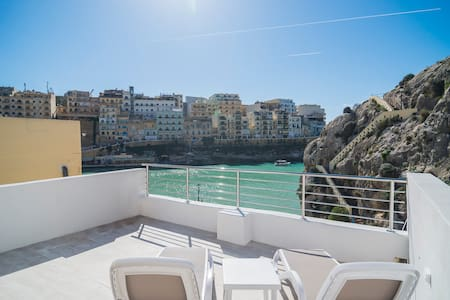 Apartment with amazing view close to the sea - Xlendi