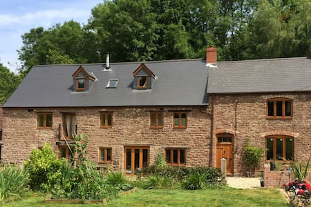 2 Double rooms in old mill sleeps up to 4. - Aylburton - Haus