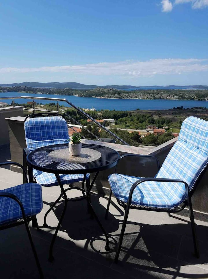 Modern Apartment Galic D (sea view) Šibenik