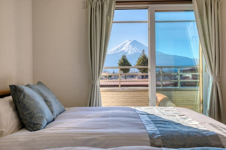 【Free-shuttle】Amazing Mt.Fuji view from all rooms!