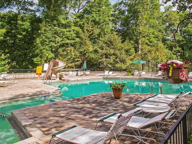 Guests have access to Chalet Village's 3 pools.