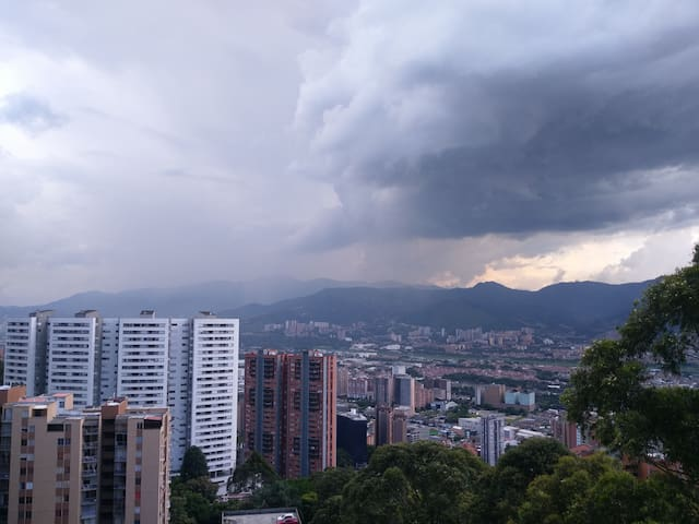 APARTMENT FURNISHED WITH THE BEST VIEW OF MEDELLÍN