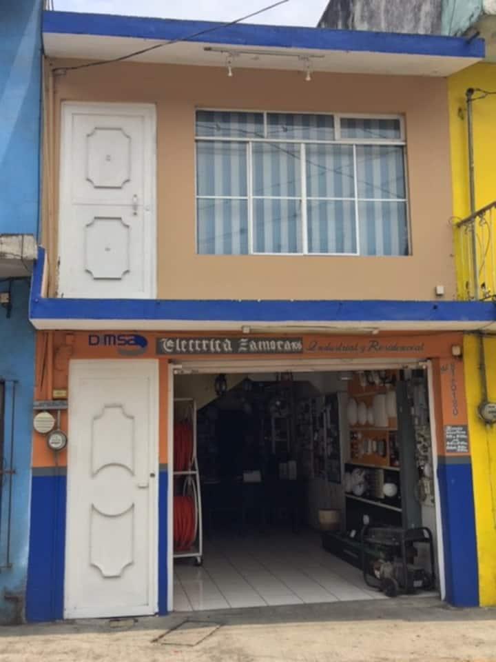 Departamento muy acogedor en el Centro de Coatepec