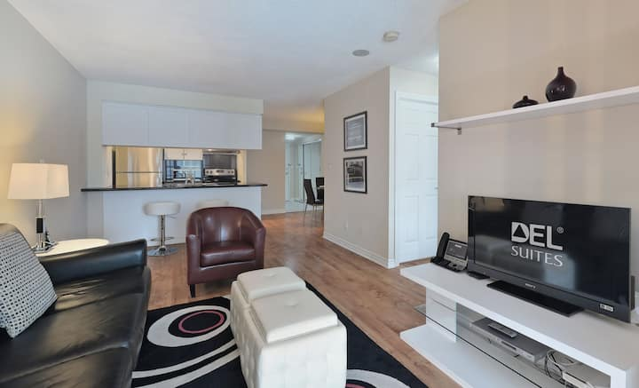 LOW RATES!-Furnished 1 bd/1 bth-Qwest-Downtown