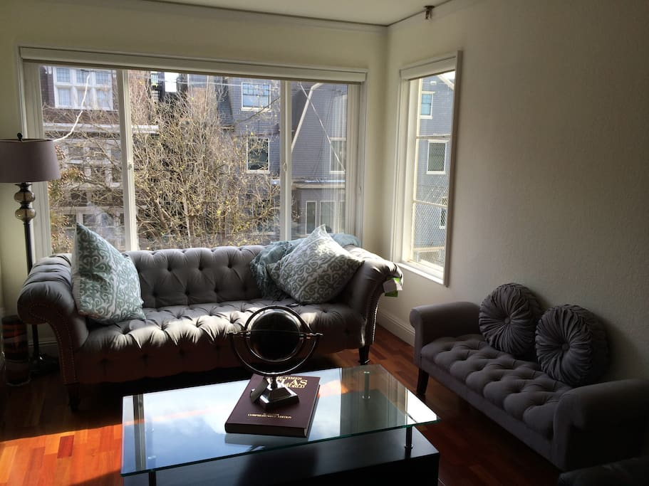 Comfy Couch, Great Natural Lighting