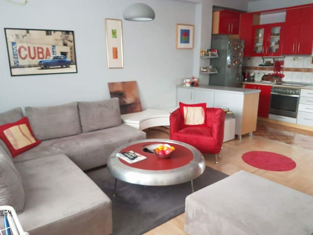 Nice and lux apartment in Skopje, extra location