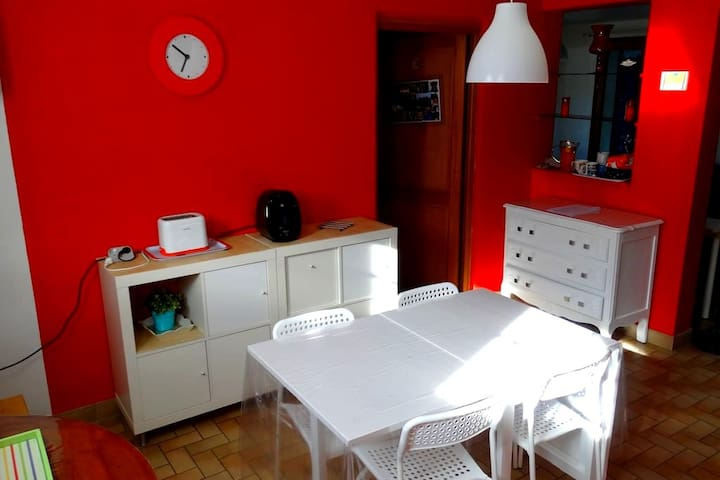 Chambre avec kichenette et parking - La Mulatière - Casa
