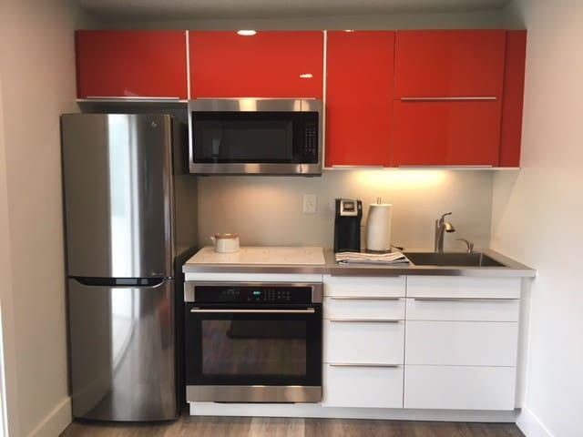 Modern Mini- Kitchen