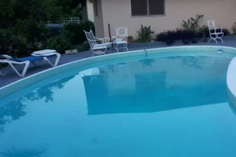 Private Suite with Pool. Near Beach & Golf Course