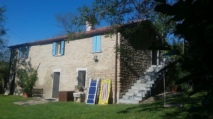 Casa in sasso sull'Appennino a Brisighella Romagna - Fognano - House