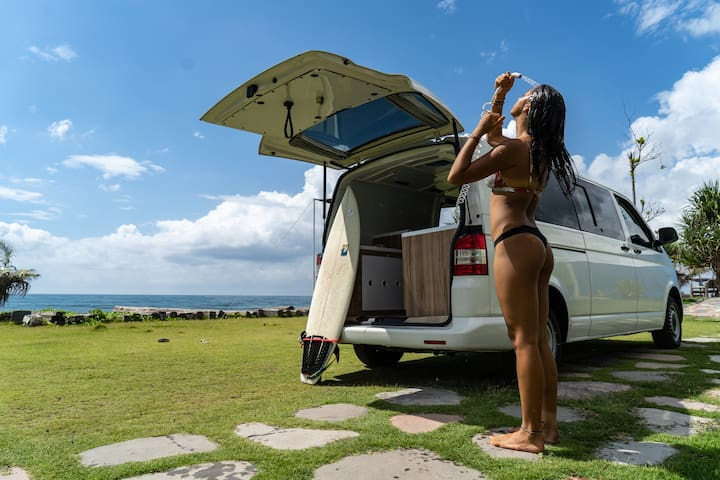 Largest Campervan in Bali with Complete Amenities
