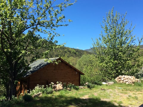 Ładna chata w parku narodowym Langwedoc