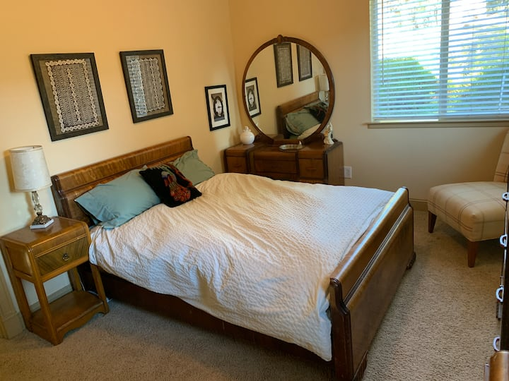 Room for long-term guests