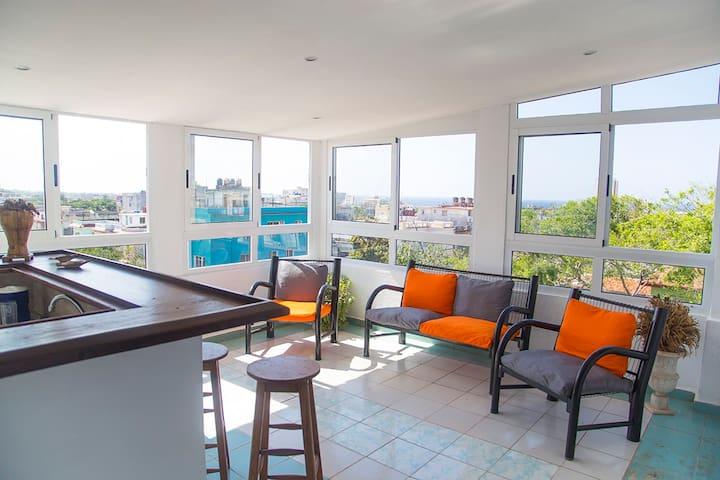 """Live-Manana """"Apartamento con bella vista al mar"""""""