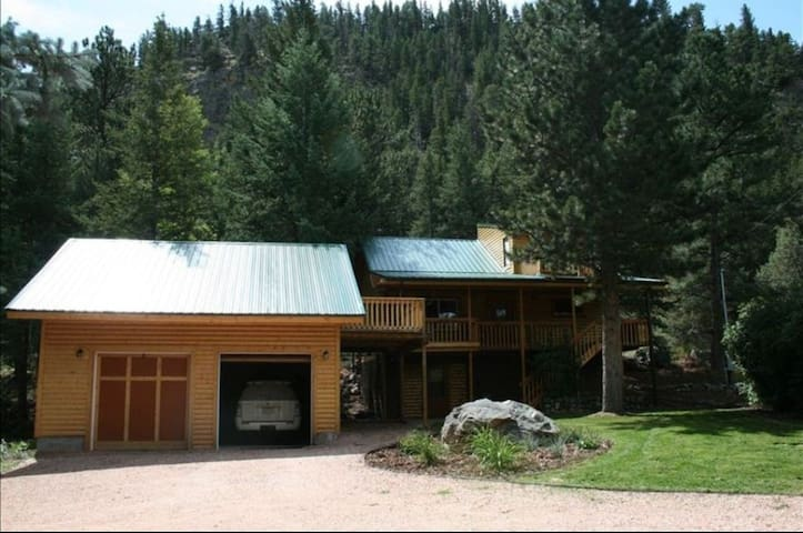 Poudre Canyon Mountian Retreat.