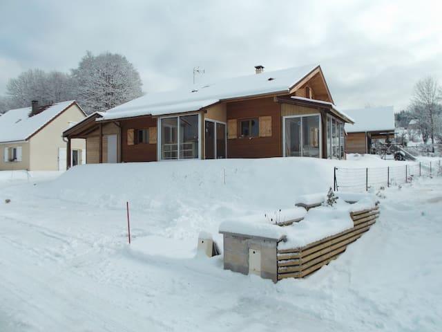 chambres d chalet/bois skieur/fond - Morbier - Alpstuga