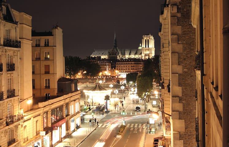 VERY NICE LE MARAIS NOTRE DAME TWO BEDROOMS (NEW) - Paris-4E-Arrondissement - Apartemen