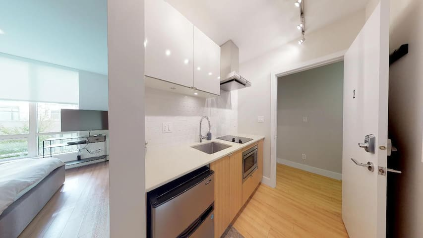 Studio Condo in Olympic Village (brand new)