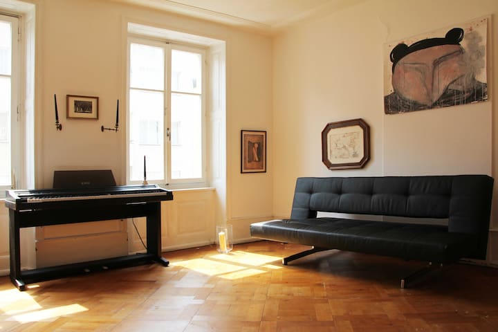 charming flat near Art Basel for 2 or more guests