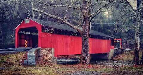 Little Gap Covered Bridge Home