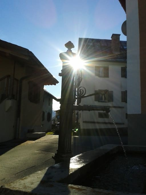 Bündner Bauerndorf...