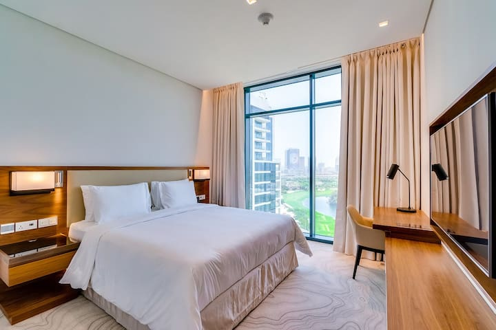 Two bedrooms apartment City view
