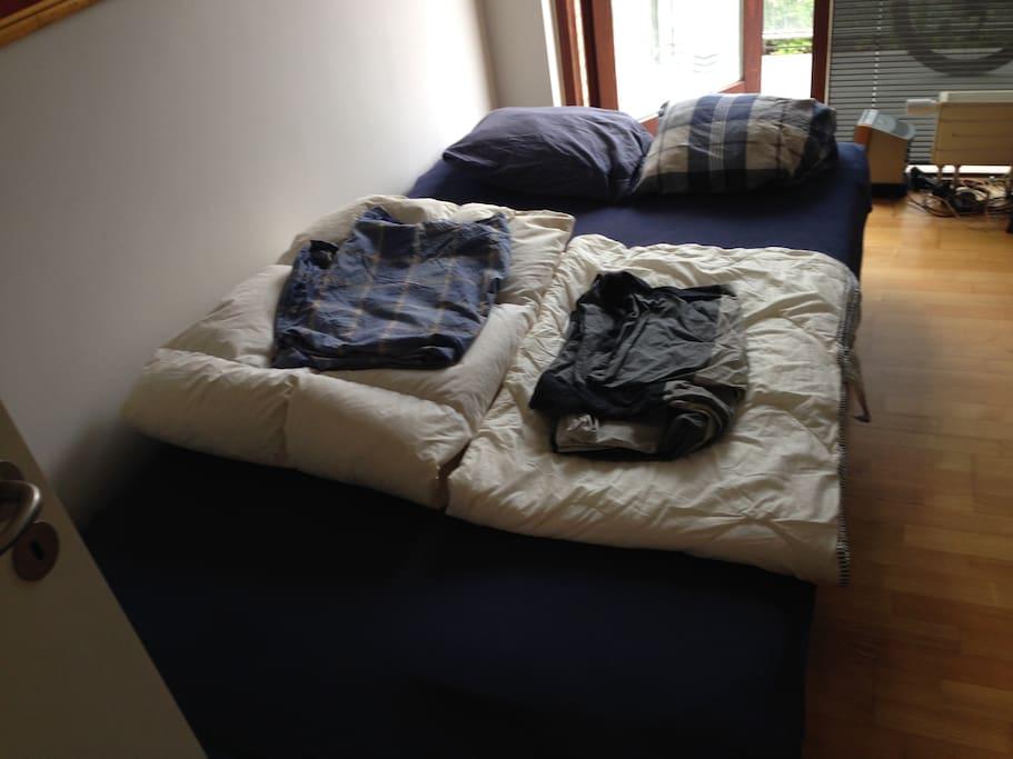 2nd Bed for 2 persons (Ligne Roset designer)