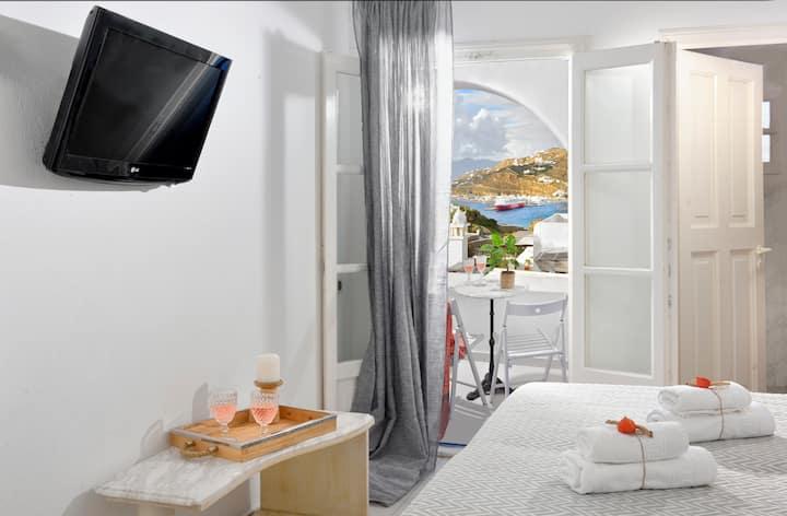 Mykonian Secret with sea view in Mykonos Town no4