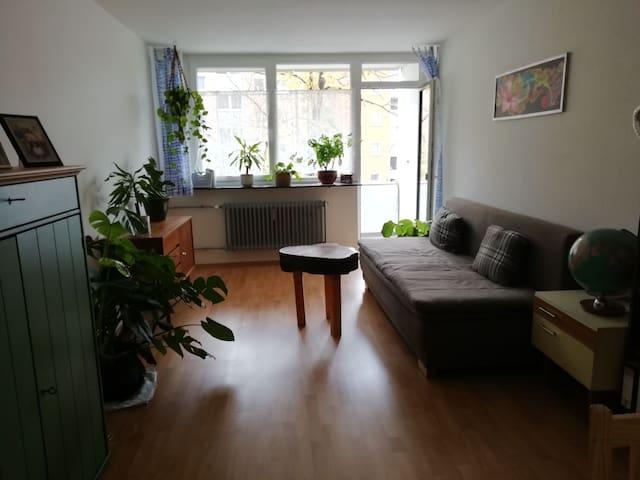 Helle 2 Betten Wohnung in St. Johannis mit Balkon