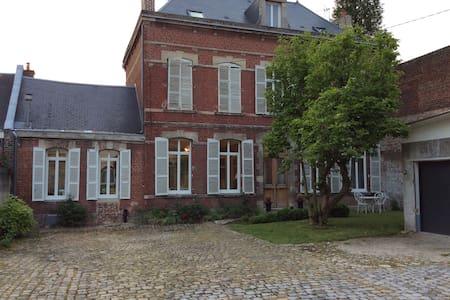 Grande maison bourgeoise centre ville tout confort - Saint-Quentin