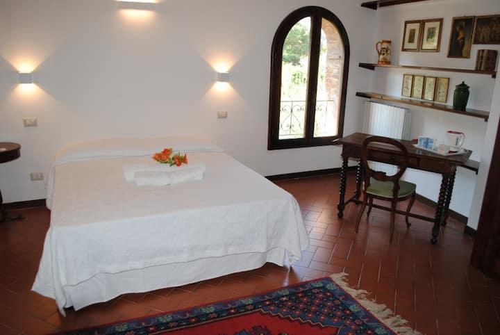 Casa dei Vezzi - S.Gimignano - La camera Teresa