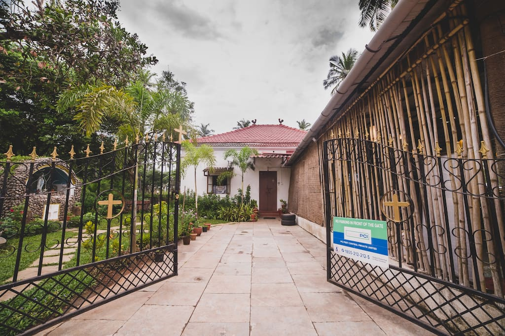 Casa de Fernandes - The Main Entrance