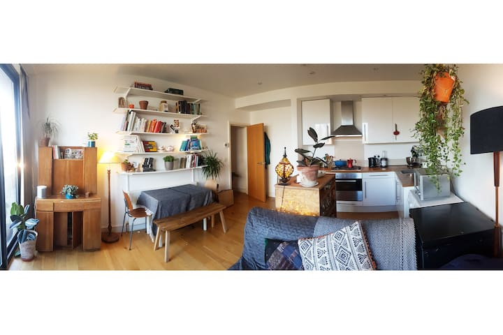 Large apartment in London Fields with terrace