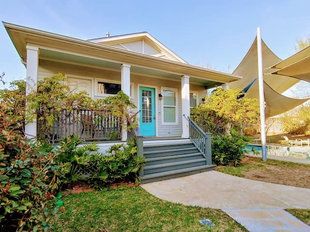 Guesthouse Cottage in Central Houston (Heights)