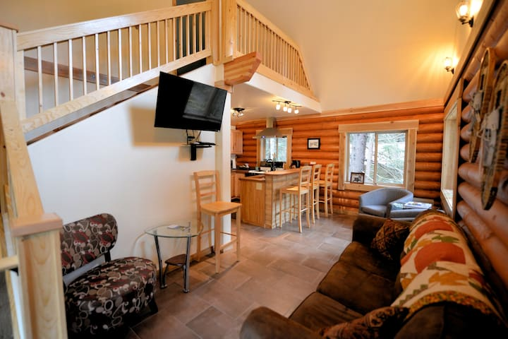 View when you enter the cabin