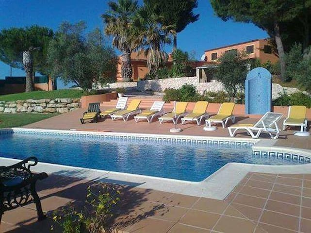 Lovely 2p bedroom with private bathroom and pool - São Bartolomeu de Messines - Villa