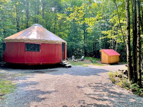 Off Grid Yurt Right By The Best of The Berkshires