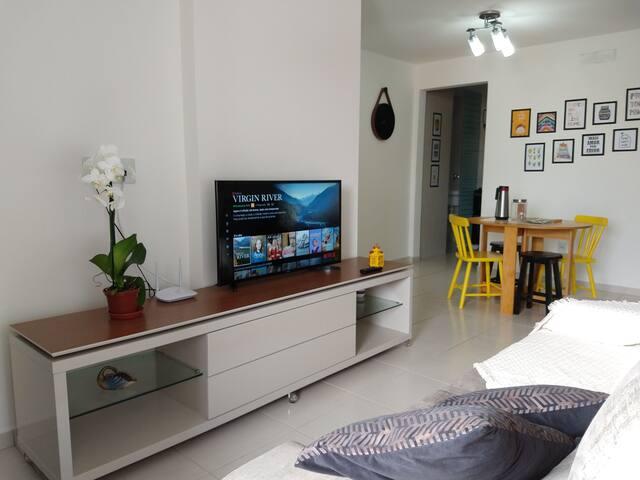 Apartamento completo e confortável na Jatiúca