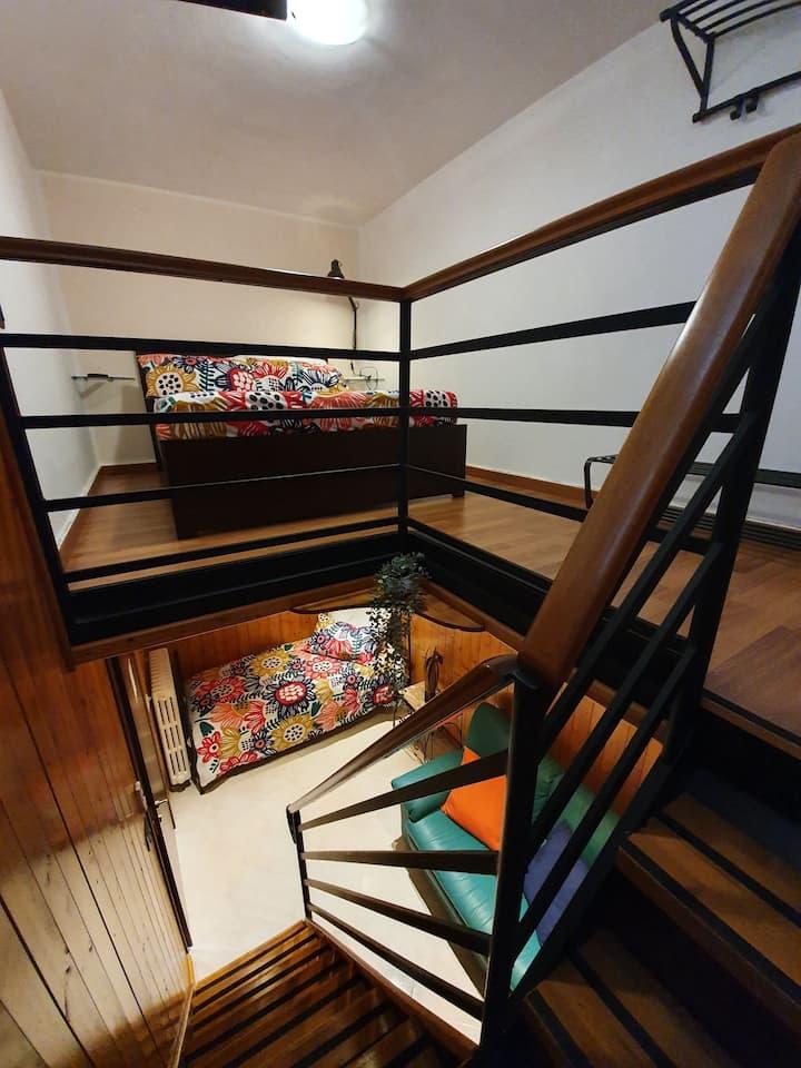 Camera su due piani Tripla Cris