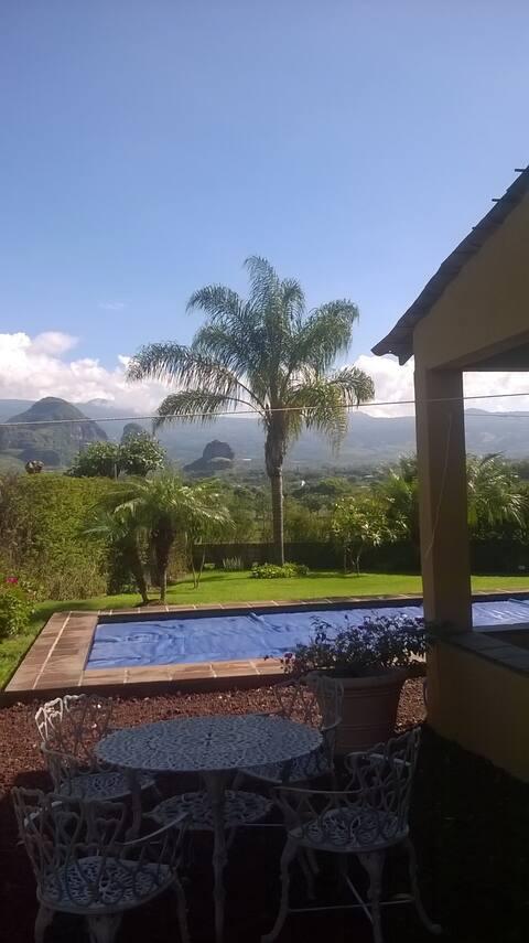 La casa Guenda, tranquility  and peace!