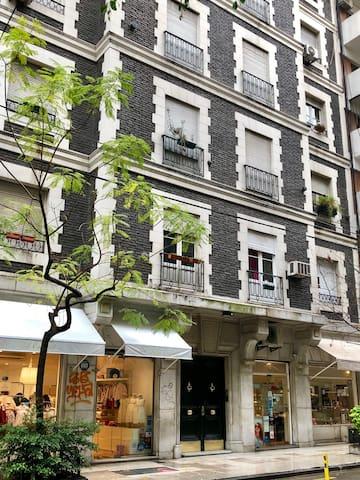 Encantador departamento en Recoleta! (70m²)